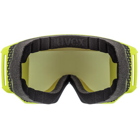 UVEX Athletic CV Gafas, lime mat/colorvision blue fire